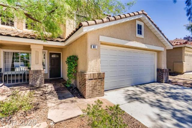 Property for sale at 61 Tanglewood Drive, Henderson,  Nevada 89012