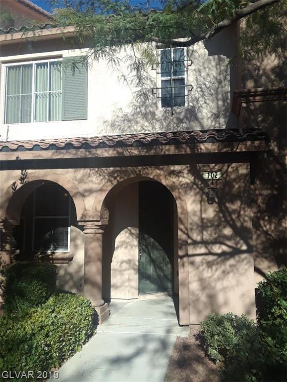 Property for sale at 11518 Belmont Lake Drive Unit: 102, Las Vegas,  Nevada 89135