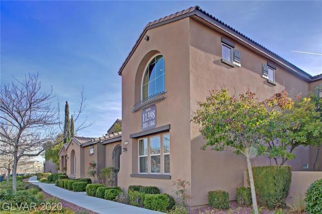 Property for sale at 11398 Belmont Lake Drive Unit: 102, Las Vegas,  Nevada 89135