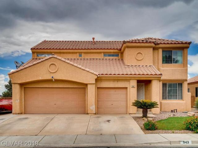 Property for sale at 943 High Plains Drive, Henderson,  Nevada 89015