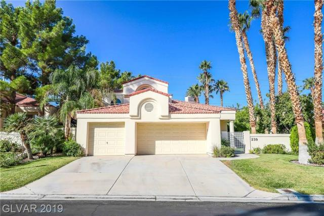Property for sale at 239 WINDSONG Drive, Henderson,  Nevada 89074
