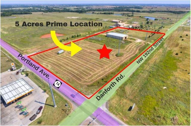 Property for sale at 0000 N Portland/Danforth Road, Edmond,  Oklahoma 73012
