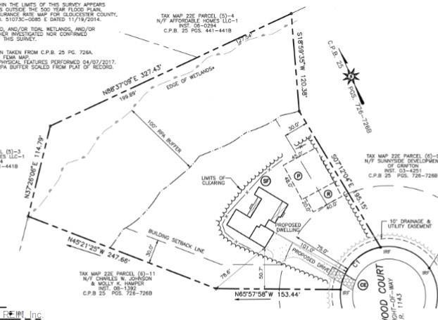 Property for sale at Lot 10 Deerwood Court, Gloucester,  Virginia 23061
