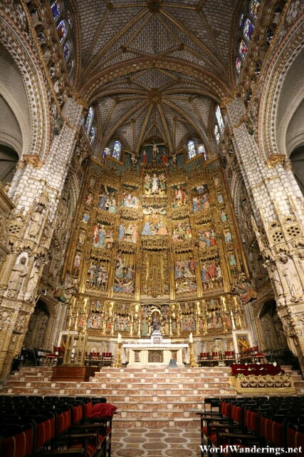 Cathedral of Toledo Altar