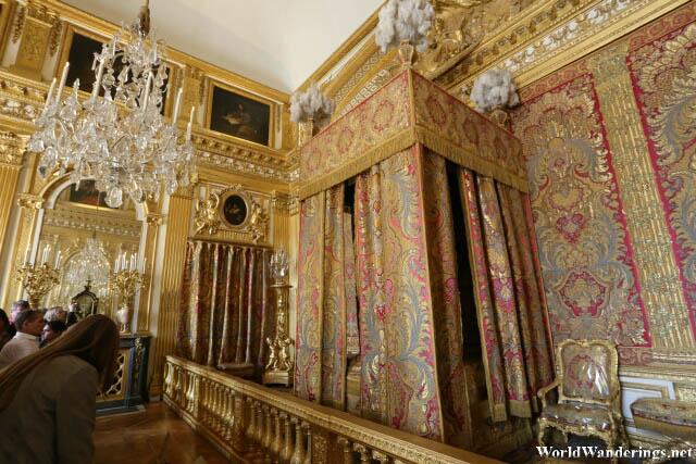 Royal Bedroom at the Palace of Versailles