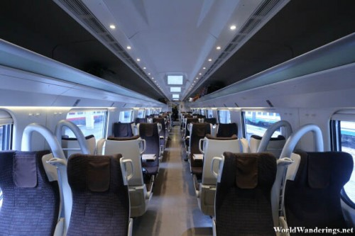 High Speed Train From Venice to Rome