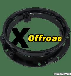 harley headlight adapter [ 1000 x 1000 Pixel ]