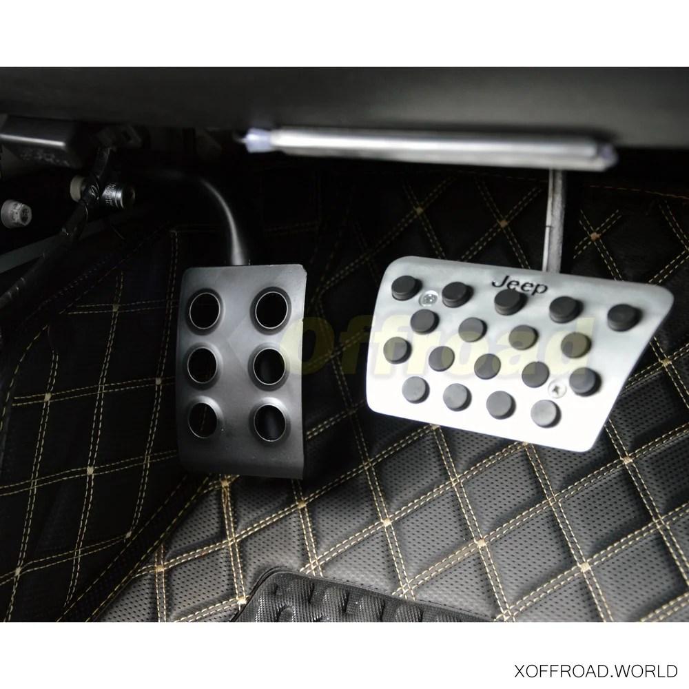 medium resolution of  rest pedal black jeep wrangler jk tj yj cj s