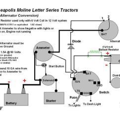 Mercruiser Alternator Wiring Diagram Cardiac Catheterization 12volt Conversion On A U - Yesterday's Tractors