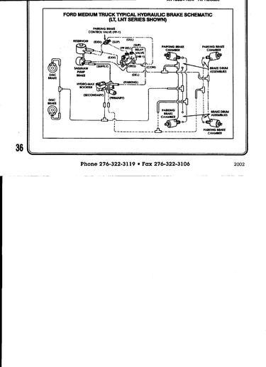 1990 F800 Diesel Wiring Diagram F700 Lucas Girling System Brakes Yesterday S Tractors