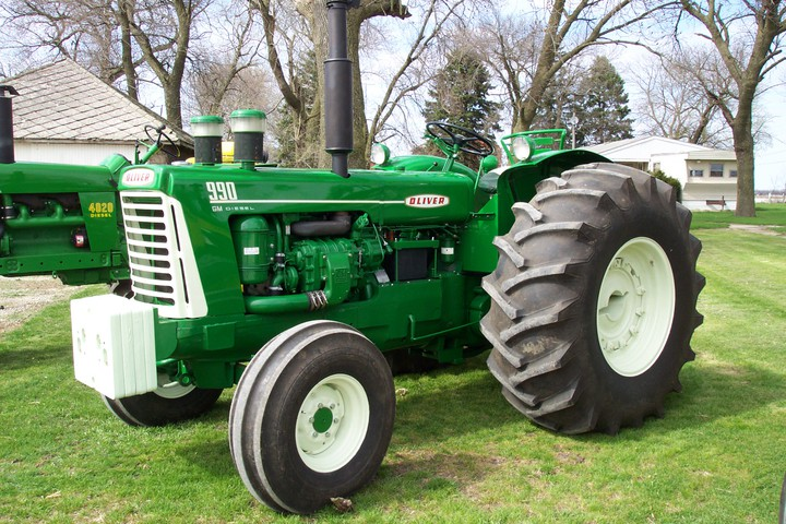 Oliver Tractor Green Paint Code