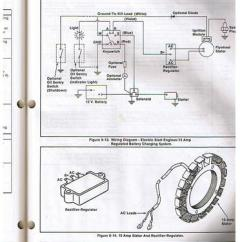 John Deere Lawn Mower Ignition Switch Wiring Diagram Central Heating Diagrams Gravely Charging Issues - Yesterday's Tractors