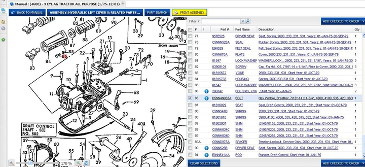 1100 Ford Tractor Wiring Diagram Ford 4600 Hydraulic Leak Yesterday S Tractors