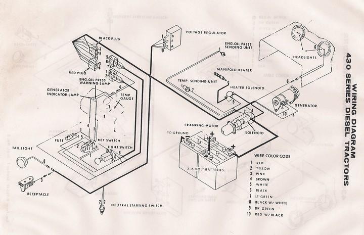 1020 John Deere Wiring Need Wiring Diagram For 430 Ca Yesterday S Tractors