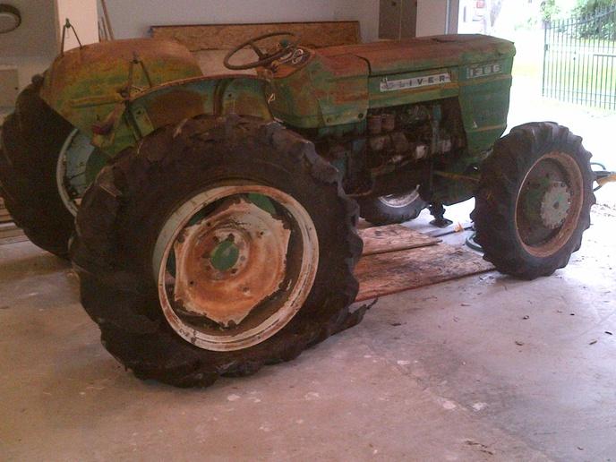 8n ford clutch 1983 porsche 944 radio wiring diagram 1365 fwa restoration complete....m... - yesterday's tractors