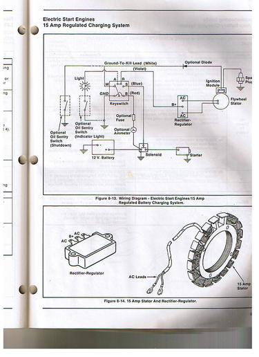 John Deere 790 Tractor Wiring Diagrams Tecumseh Hh150 On A Bolens Husky 1556 Garden Tractors
