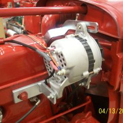 12 Volt Alternator Wiring Diagram Three Way Switch Power At Light Farmall H 6 Or V - Yesterday's Tractors