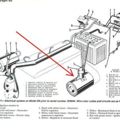 Ford Tractor Key Switch Wiring Diagram 48 Volt Club Car 8n Not Starting, Just Solenoid Clicking - 9n, 2n, Forum Yesterday's Tractors