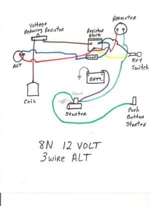 8N 12 volt wiring problems  Ford 9N, 2N, 8N