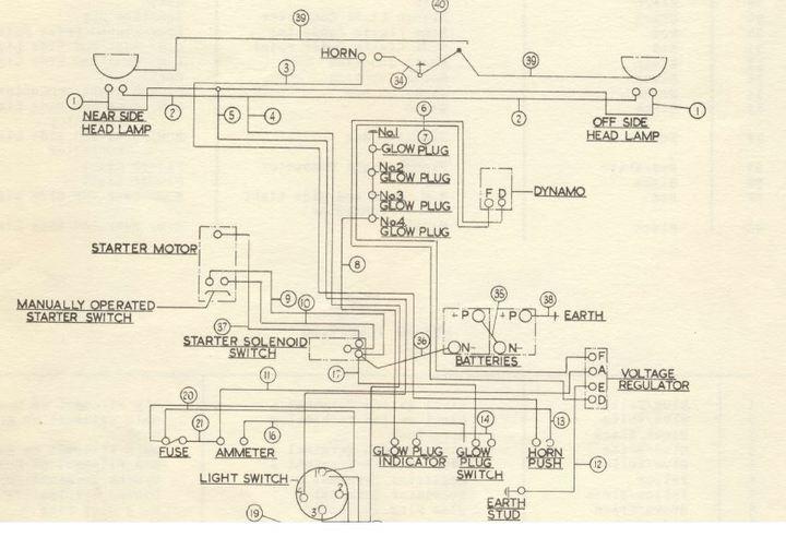 oliver 550 wiring diagram