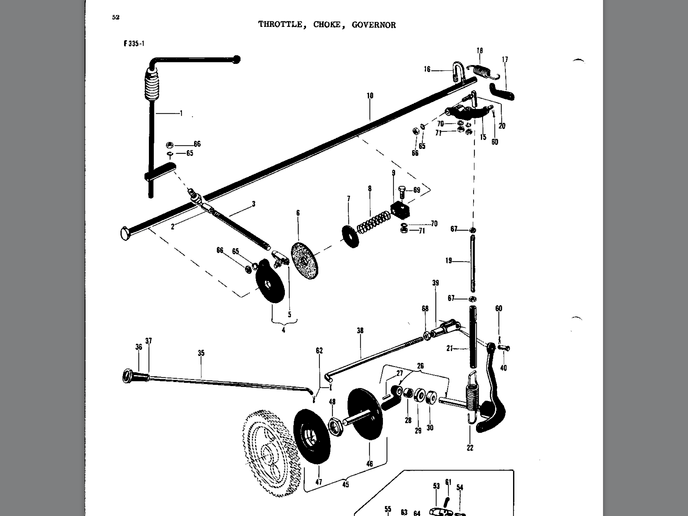 farmall h parts diagram throttle