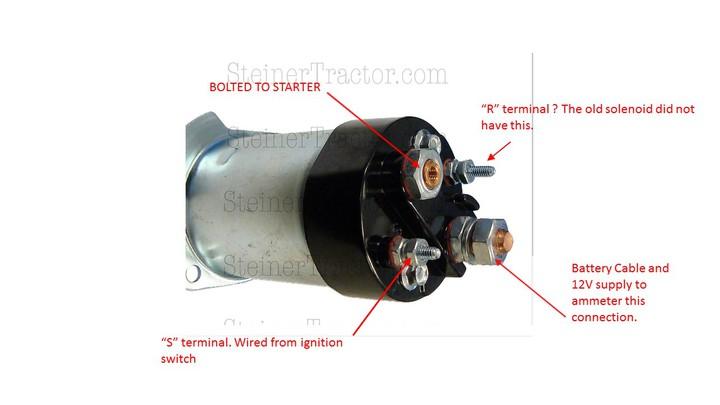 Well Starter Solenoid Switch Wiring Diagram Also Ford Starter Solenoid