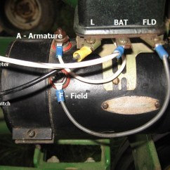 Wiring Diagram For Tractor Ignition Switch Ford 4000 Starter John Deere 50 - Yesterday's Tractors