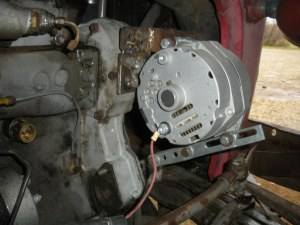 Alternator not charging  Yesterday's Tractors