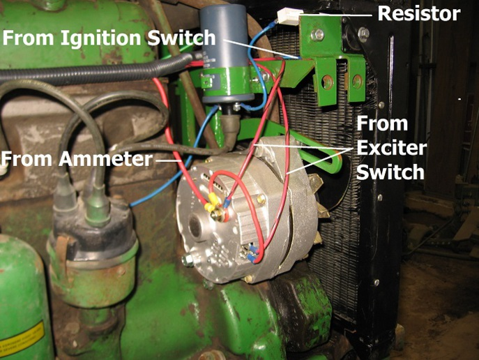 6 Volt To 12 Volt Conversion Wiring Diagram Jd Mt 12 V Conversion John Deere Forum Yesterday S