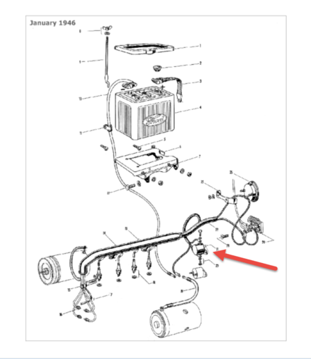 12 Volt Wiring Diagram For 9n Tractor, 12, Free Engine
