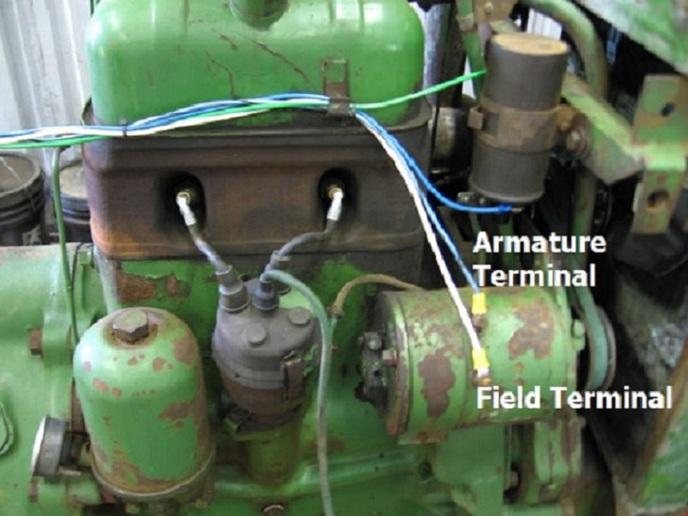 John Deere 5020 Wiring Diagram Cutout Or Regulator Yesterday S Tractors