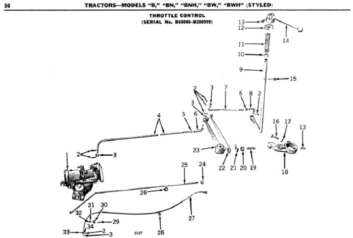 1947 8n Wiring Diagram Governor To Carb Throttle Rod Adju Yesterday S Tractors