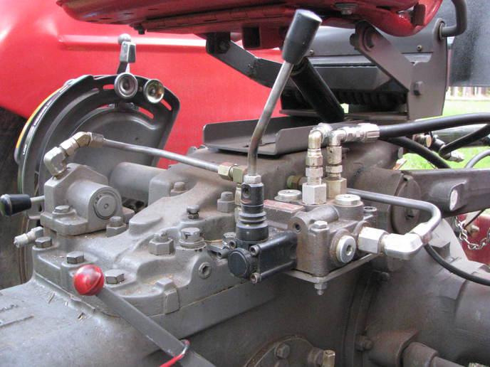 Massey Ferguson 175 PTO  Yesterdays Tractors