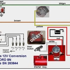Farmall A 12 Volt Wiring Diagram What Is Context Level Data Flow Jmor - Ammeter Show Discharge When Running Ford 9n, 2n, 8n Forum Yesterday's Tractors