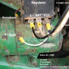 Wiring Diagram For Tractor Ignition Switch Boreal Forest Food Web Polarizing 12 Volt Generator O... - Yesterday's Tractors (550732)