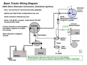 Wiring Diagram for a D14  Yesterday's Tractors (164941)