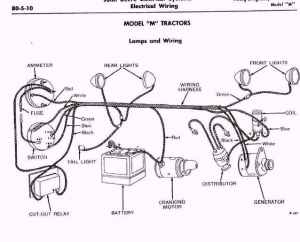 model m or MC wiring diagragm  John Deere Forum