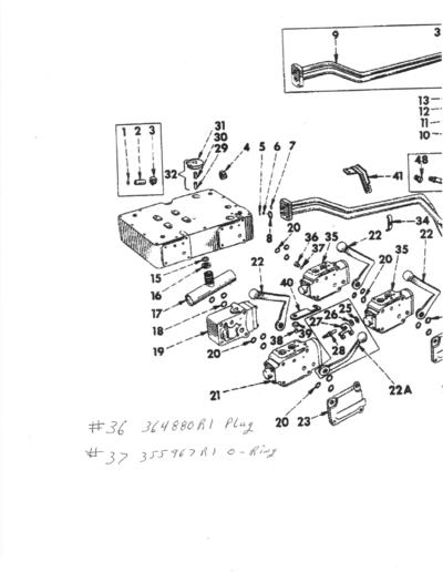 farmall m steering diagram