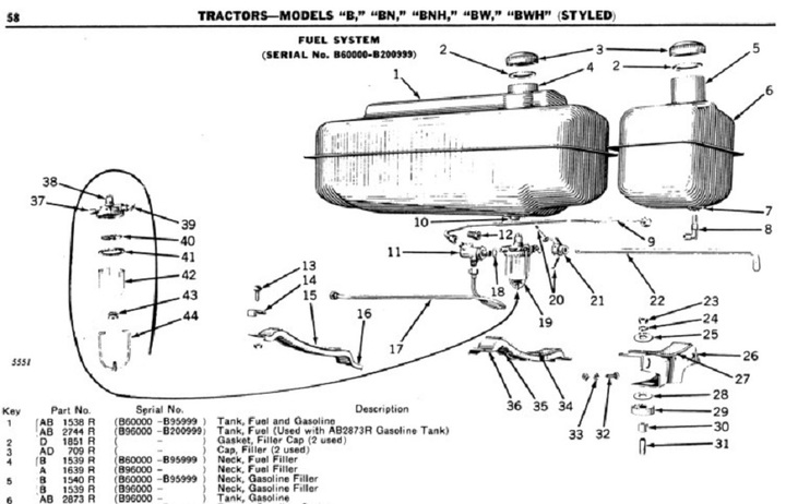 Allis Chalmers B Parts Diagram. Wiring. Wiring Diagram Images