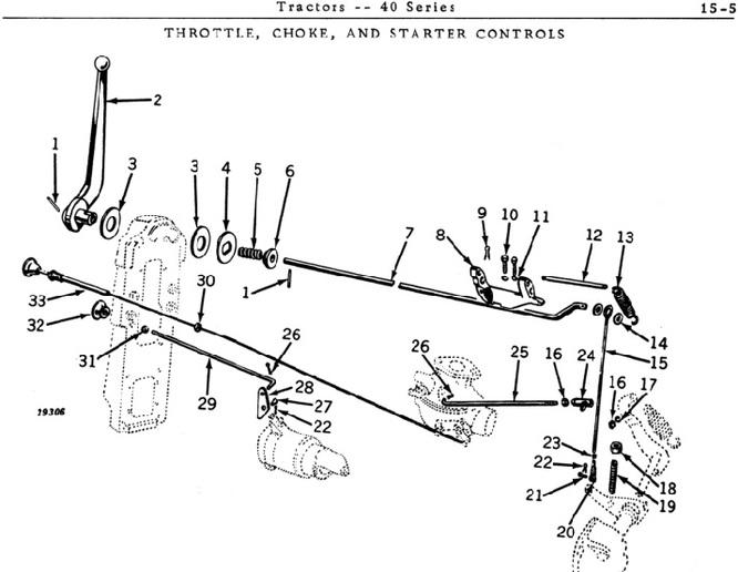 John Deere Model 40 Tractor Wiring Diagrams. John Deere