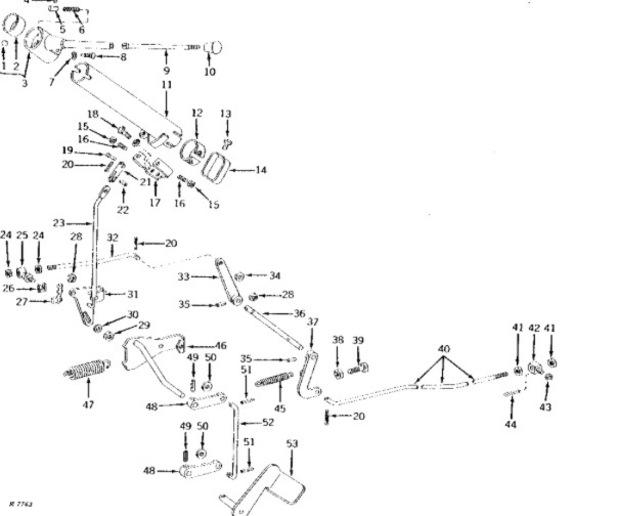 John Deere 1010 Steering Parts Diagram. John. Tractor
