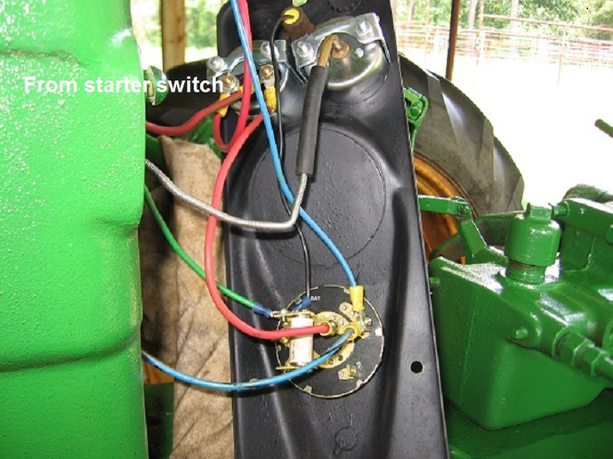Tractor Alternator Wiring Tractor Alternator Wiring Diagram