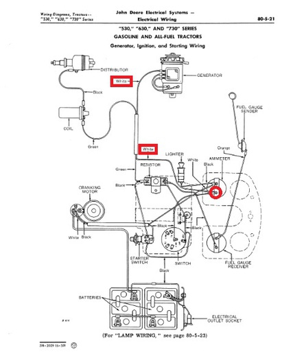 [DIAGRAM] John Deere Tractor Voltage Regulator Wiring