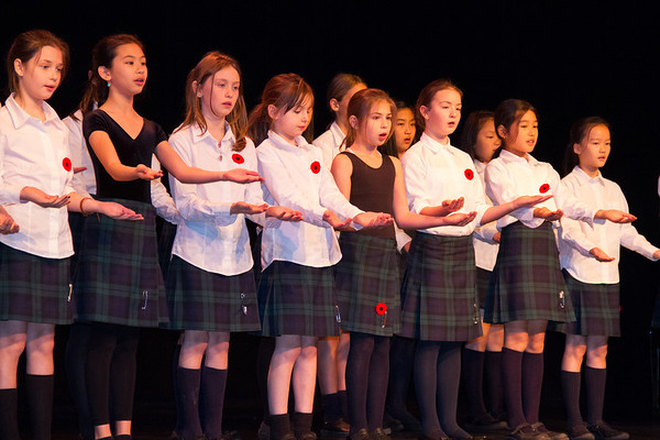 Jr. School Remembrance Day Assembly
