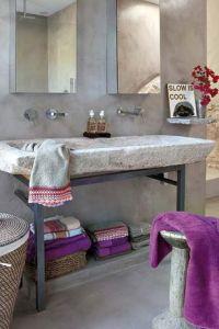 Rustic Purple Master Bathroom Design Ideas & Pictures ...