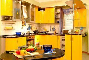 modern yellow kitchen design : Shuffletag.co