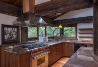 Rustic Kitchen with Stone Tile & Flush in SANTA BARBARA ...