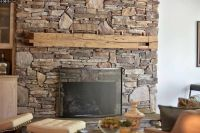 Stacked Stone Fireplaces - Home Design