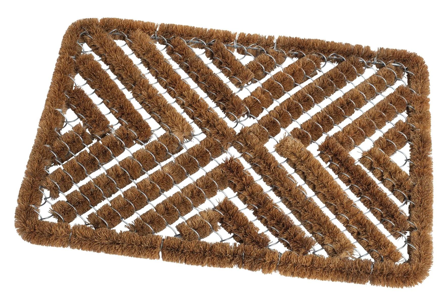 tapis d exterieur en coco et grillage 40x60cm