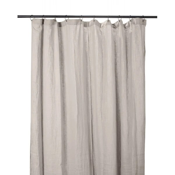 rideaux dili en coton lin 120x280cm